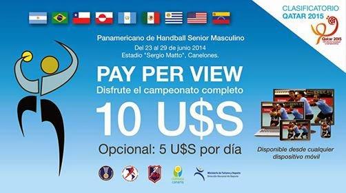 Pay-per-View: La Federación Uruguaya cambia las reglas | Mundo Handball