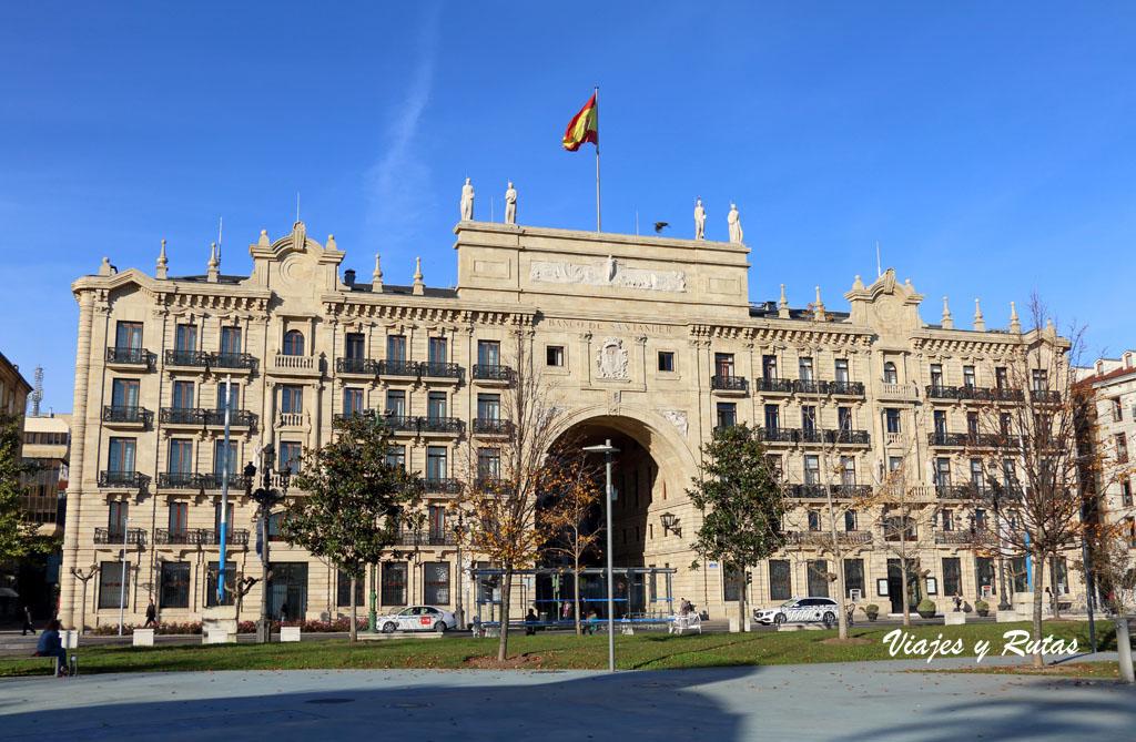 Edificio del Banco Santander. Santander