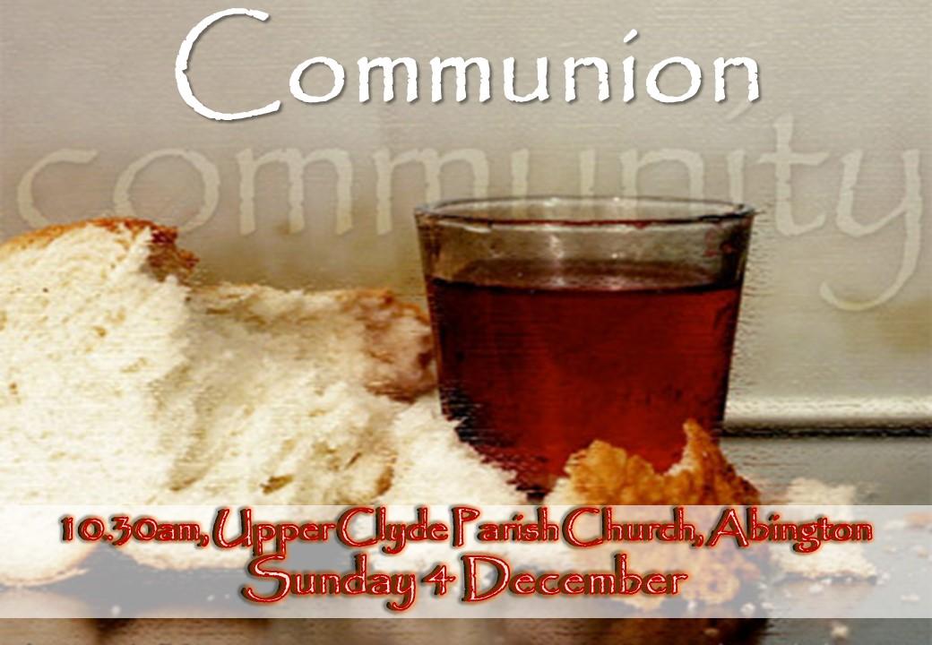 upper clyde parish church advent communion 4th december. Black Bedroom Furniture Sets. Home Design Ideas