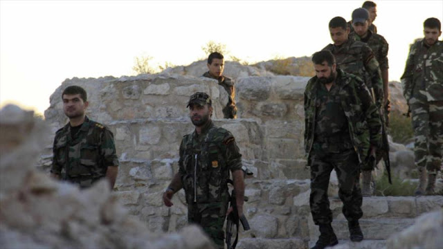 Fuerzas sirias rodean base de EEUU cerca de frontera con Jordania