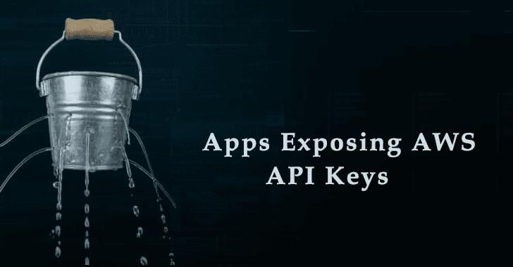 Exposing AWS API Keys