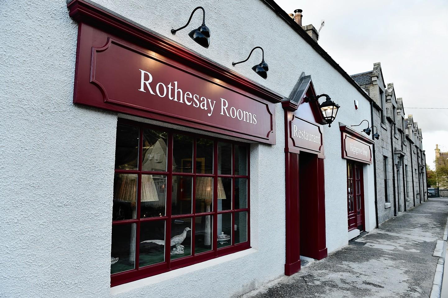 Rothesay Rooms Ballater Menu
