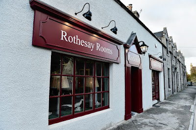 Rothesay Rooms Ballater Menu