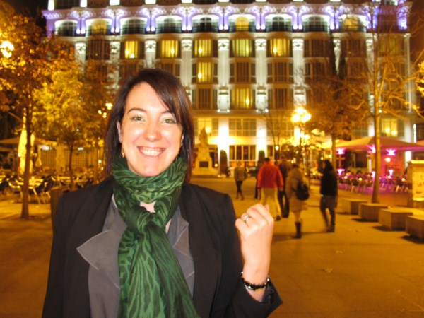 Olive Dragonfly Madrid What I Wore Evening Edition
