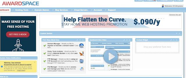 Hosting Gratis para tu proyecto WEB