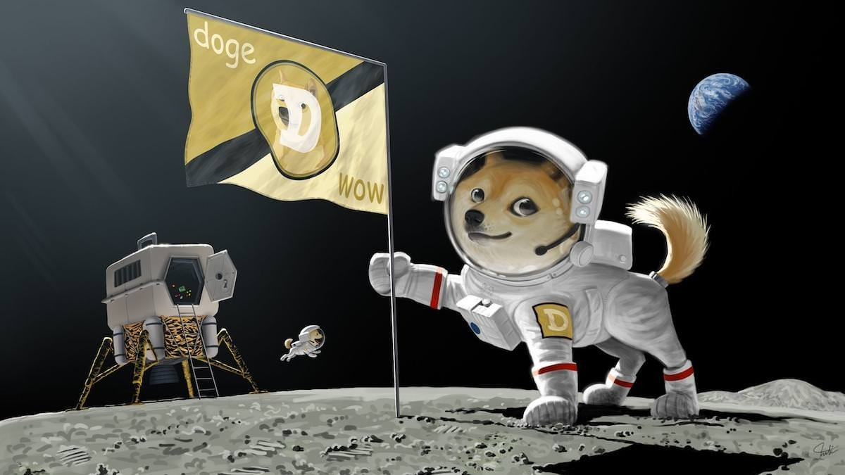 Dogecoin rumbo a la luna
