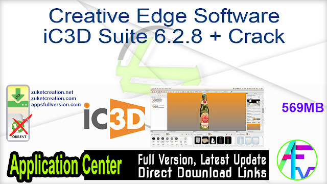 Creative Edge Software iC3D Suite 6.2.8 + Crack