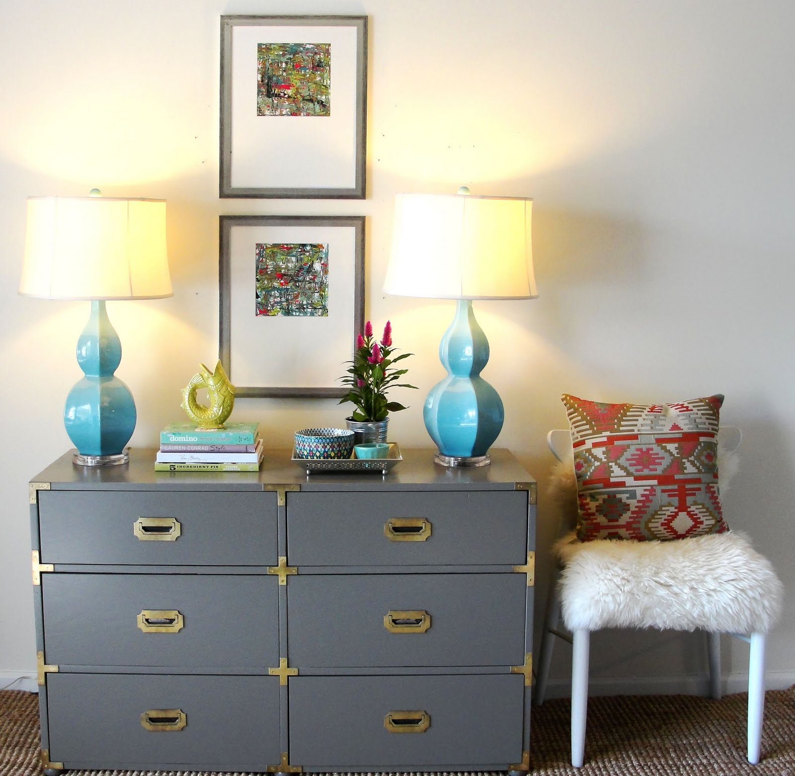 Campaign Dresser Entryway Julia Ryan
