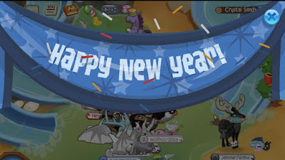 Image result for animal jam happy new year banner