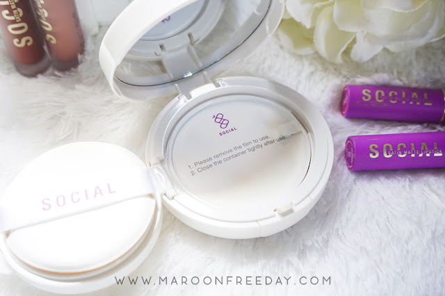 Review BC Airy Cushion Foundation Social Cosmetics