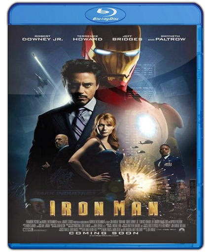 Iron Man (2008) HD 1080p Latino