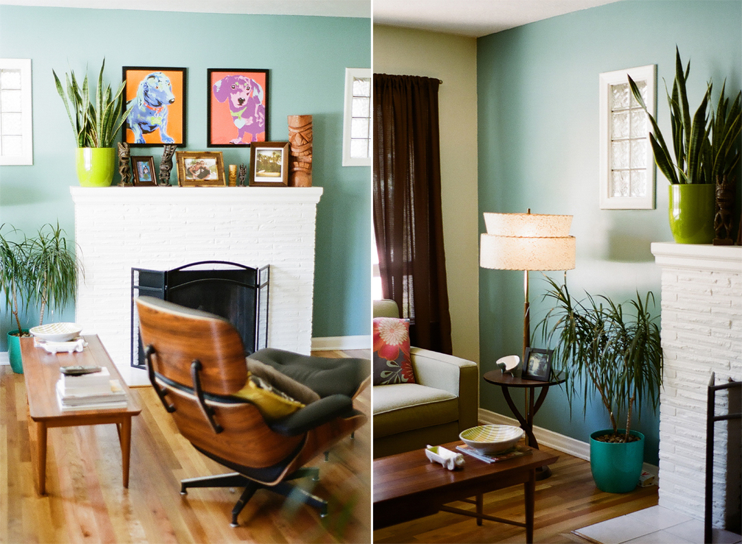 Allison Corona Photography Rob  Carries Mid Century Modern Home in Boise ID