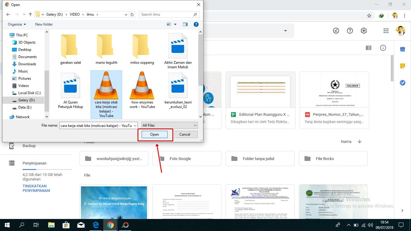 Cara Mudah Upload File Ke Google Drive Melalui Hp Dan Pc Komputer Berbagi Ilmu