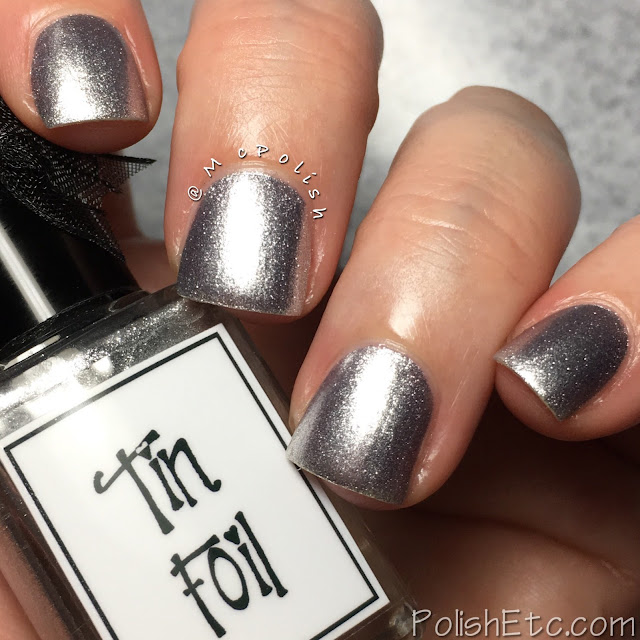 Whimsical Ideas by Pam - Holiday 2017 - McPolish -Tin Foil