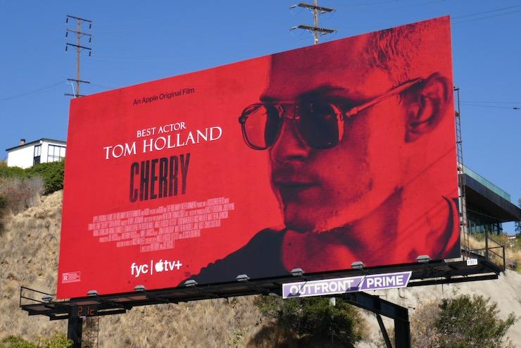 Cherry movie billboard