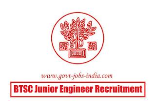 BTSC Junior Engineer Recruitment 2020