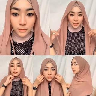 Tutorial Memakai Hijab Pashmina Simple dan Modis | ditutoinfo.com