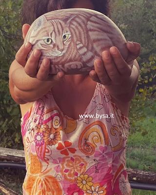 sassi dipinti gatti .Listino prezzi.