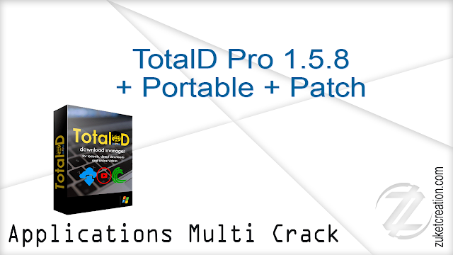 TotalD Pro 1.5.8 + Portable + Patch  |   30 MB