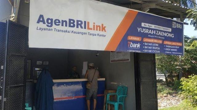 Contoh agen BRILink di Palu yang sukses