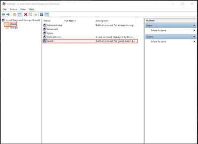 Cara Membuat Akun Tamu 'Guest Account' di Windows 10 - Guest Account 9