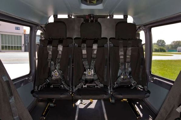 Airbus UH-72A Lakota interior