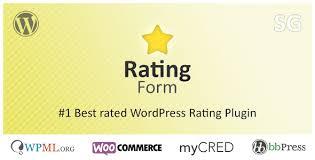Download Rating Form v1.5.2 – WordPress Rating Plugin, Pc Software List, Top Softwares For Pc, Latest Version.
