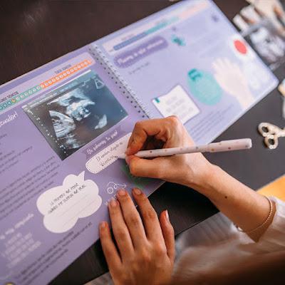 libro diario album recuerdos embarazo semana a semana blog mimuselina