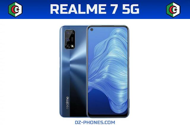 سعر ريلمي 7 5G في الجزائر ومواصفاته Realme 7 5G prix Algerie