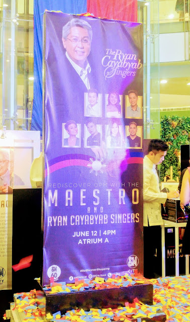 SM City Sucat honors Ryan Cayabyab on Independence Day