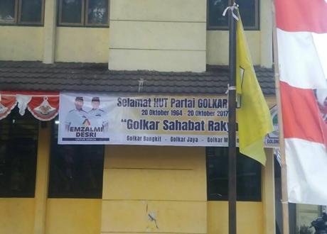 Pemilu 2019, Golkar Padang Targetkan 2 Kursi Per Dapil