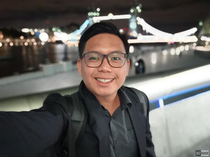Low light selfie bokeh