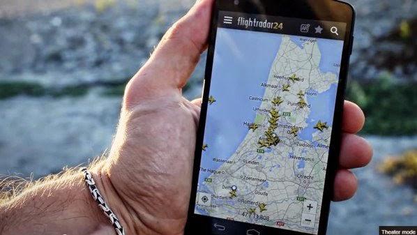 تابع كل الرحلات الجوية في العالم مباشرة عبر تطبيق FlightRadar24