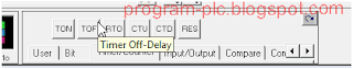TOF Timer Counter toolbar