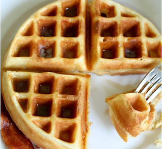 Homemade Waffle Recipe #dessert