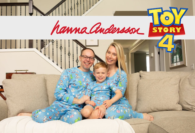 Review of Hanna Andersson Toy Story 4 Family Pajamas