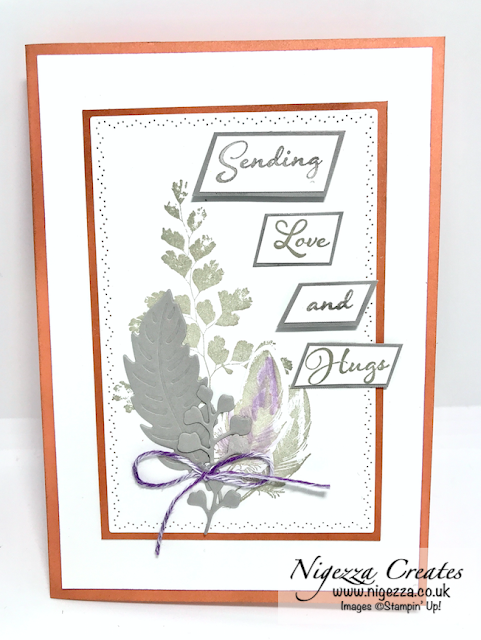 Nigezza Creates with Stampin' Up! & Positive Thoughts