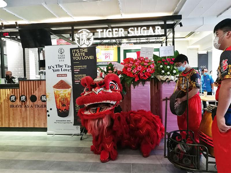 Tiger sugar at Jaya One