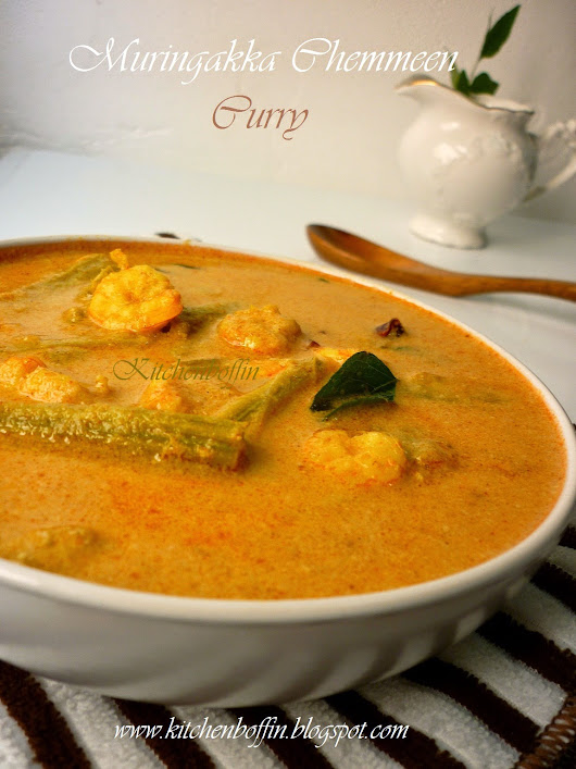Muringakka Chemmeen Curry/ Prawn Drumstick Curry