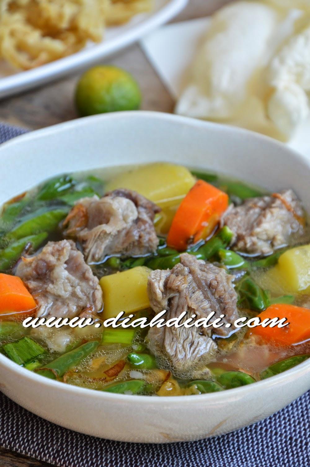 Diah Didi S Kitchen Sup Iga Pedas Ala Sop Janda