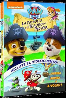 Paw Patrol: La patrulla y el tesoro del pirata (2016)
