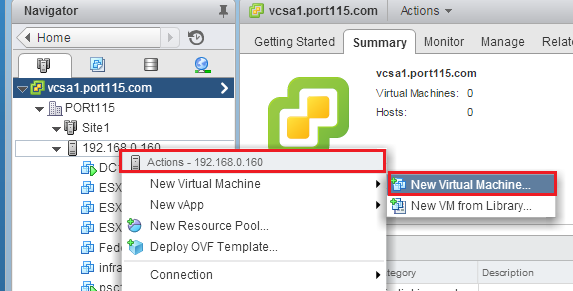 Nested Home Lab – Part 9 – Deploying a Nested ESXi Host