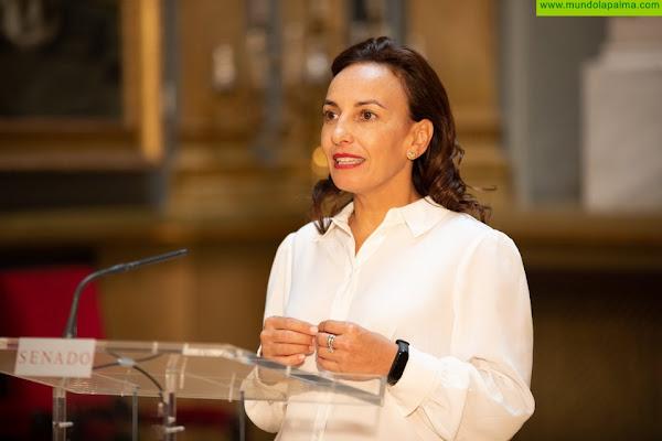Olivia Delgado subraya el apoyo del Estado a La Palma con más de 223 millones de euros en ayudas
