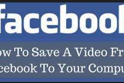 How Do You Save Facebook Videos