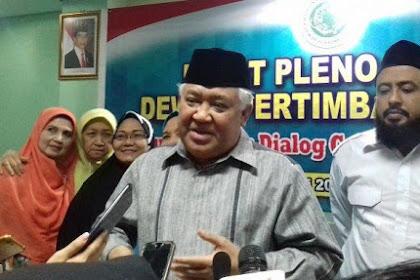 Tidak Masuk Kepengurusan MUI, Din Syamsuddin: Dari Awal Saya Tidak Bersedia