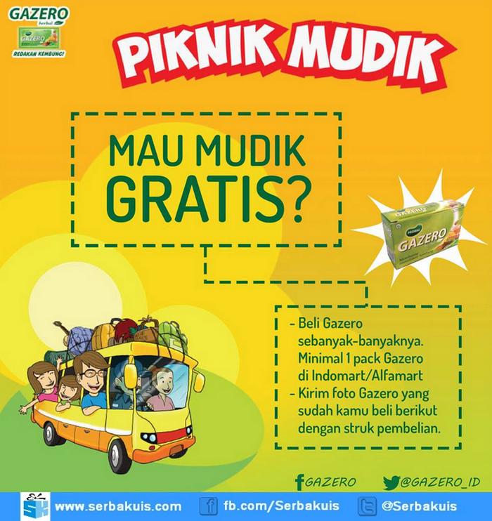 Promo Piknik Mudik Berhadiah Mudik Gratis Tujuan Semarang / Jogja