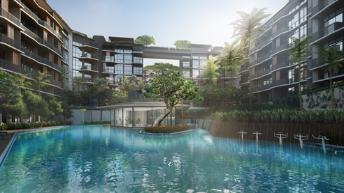 DainTree Residences - 50m Leisure Pool
