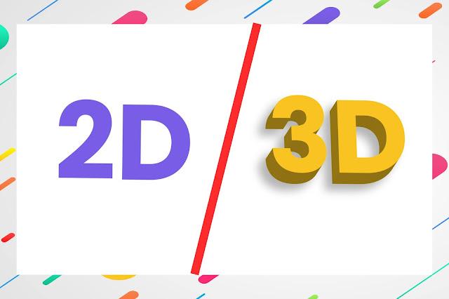 Perbedaan 2D dan 3D