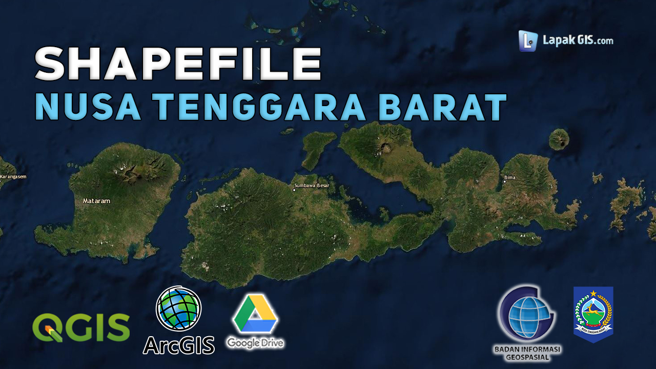 Shapefile Provinsi Nusa Tenggara Barat Terbaru