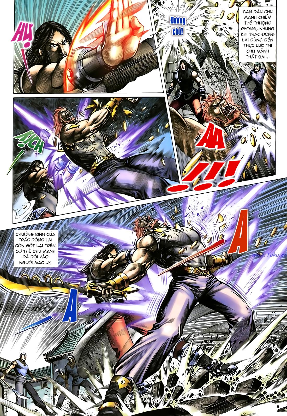 Anh hùng vô lệ Chap 23 trang 6
